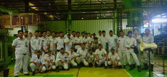 Pengalaman Kerja Di Industri Manufacture.