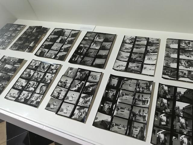 Tiras fotográficas en blanco y negro Brigitte Bardot Málaga
