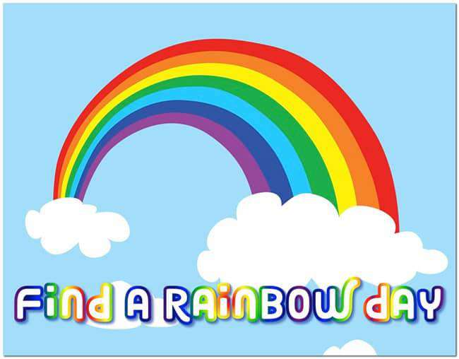 National Find a Rainbow Day Wishes Lovely Pics