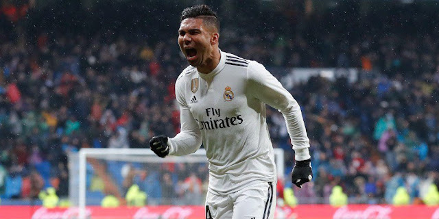 Casemiro is half the power of Real Madrid