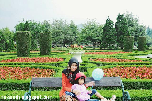 taman bunga tercantik di indonesia