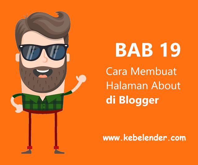 Cara Membuat Halaman About Me (About Us) Keren di Blog