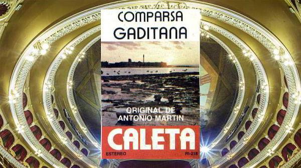 """Todo el Repertorio de la Comparsa """"Caleta"""" (1980) de Antonio Martín García"""