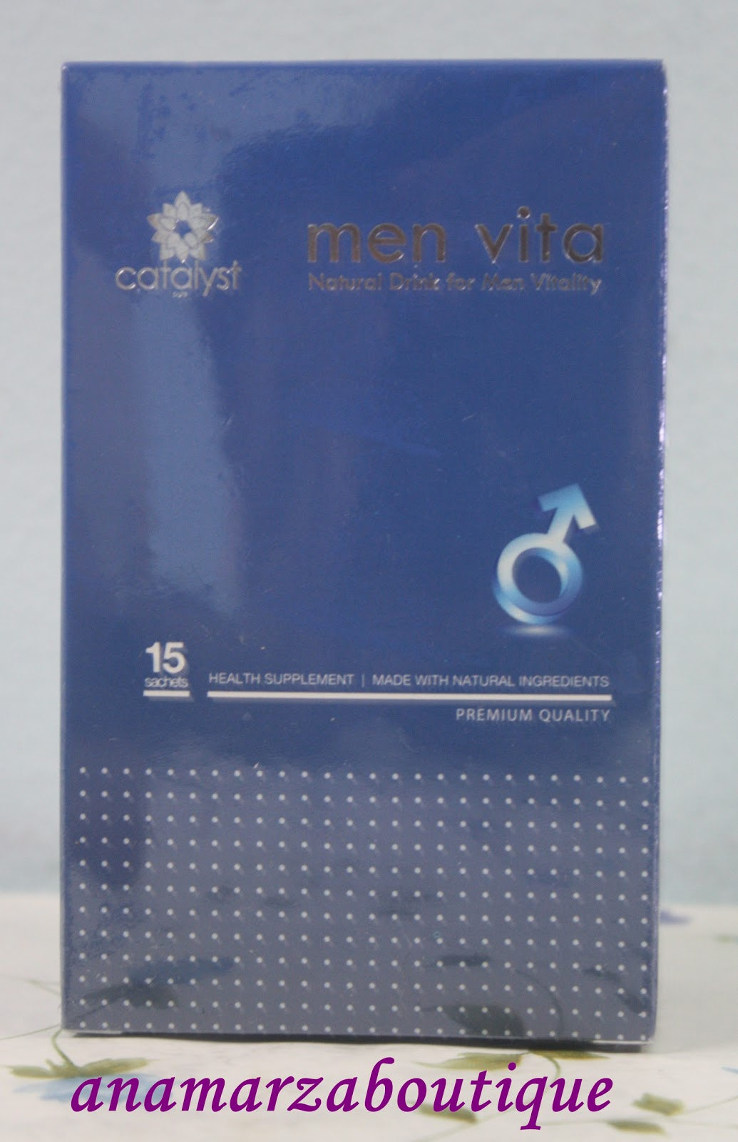 CATALYST MEN VITA : Men Vitality Natural Drink
