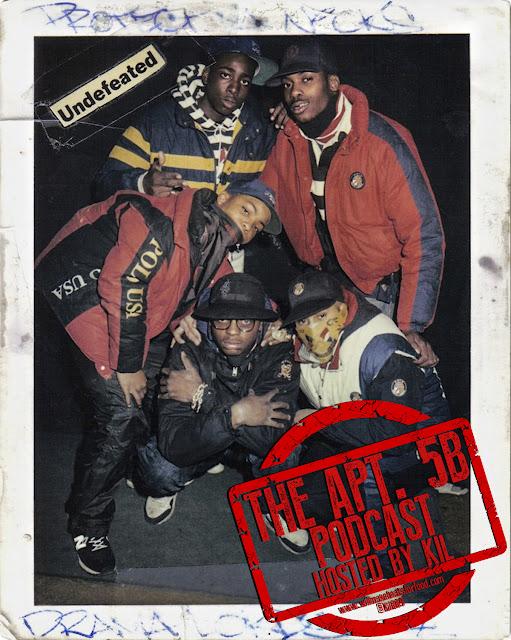 Apt. 5B Podcast: Fresh Dressed Like A Million Bucks...Top 5 Dopest Hip Hop Brands
