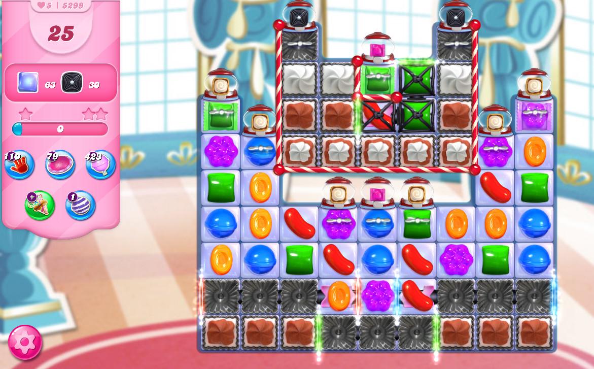 Candy Crush Saga level 5299