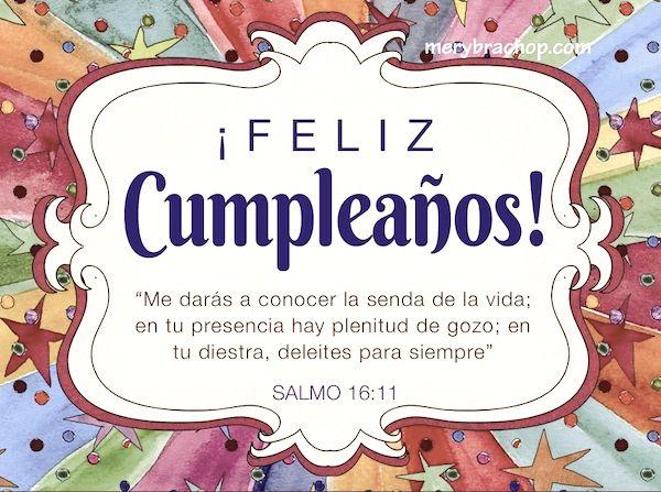 versos de la biblia para felicitar cumpleaños