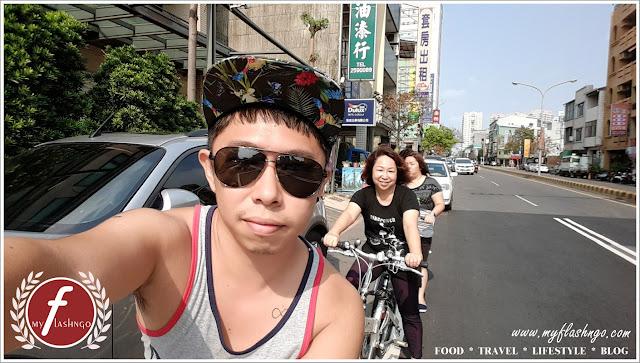 骑着铁马逛台南市