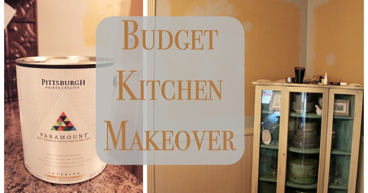 art is beauty budget friendly kitchen makeover using the