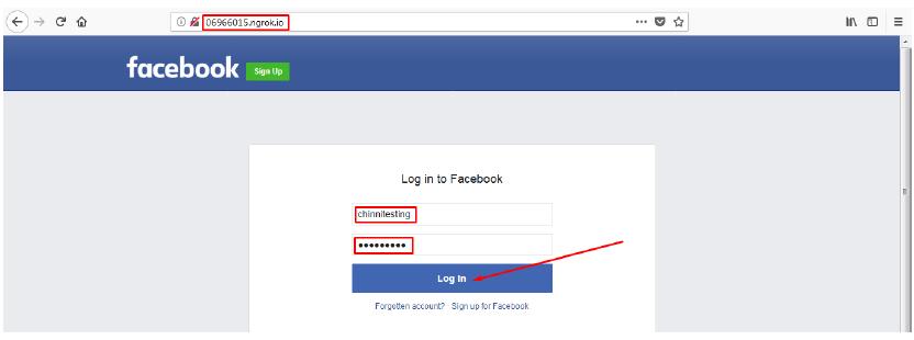 Creating a phishing page using Social Engineering Toolkit (SET) -WAN