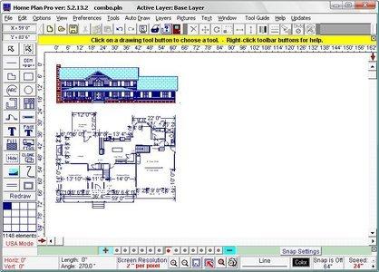 Home Plan Pro 5.2.25.11 برنامج التصميم الهندسي Portable