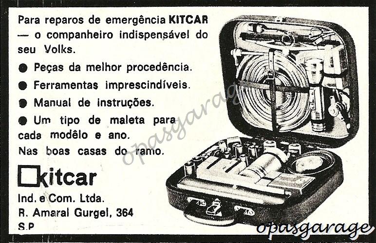 OPASGARAGE: KITCAR