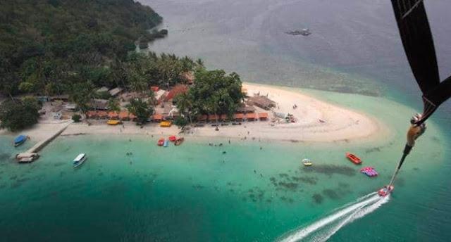 Wisata Pulau Tangkil Lampung Pasawaran
