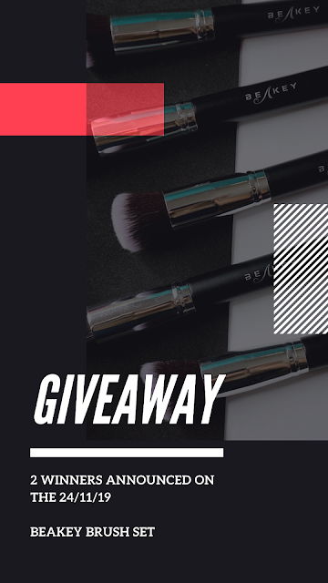 2 brush sets to win from beakey blender