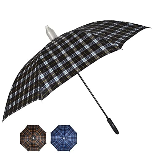 Fendo Kargil 23 Inch Straigh Auto Open Umbrella (Multicolor)