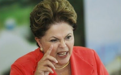 O desespero da Dilma