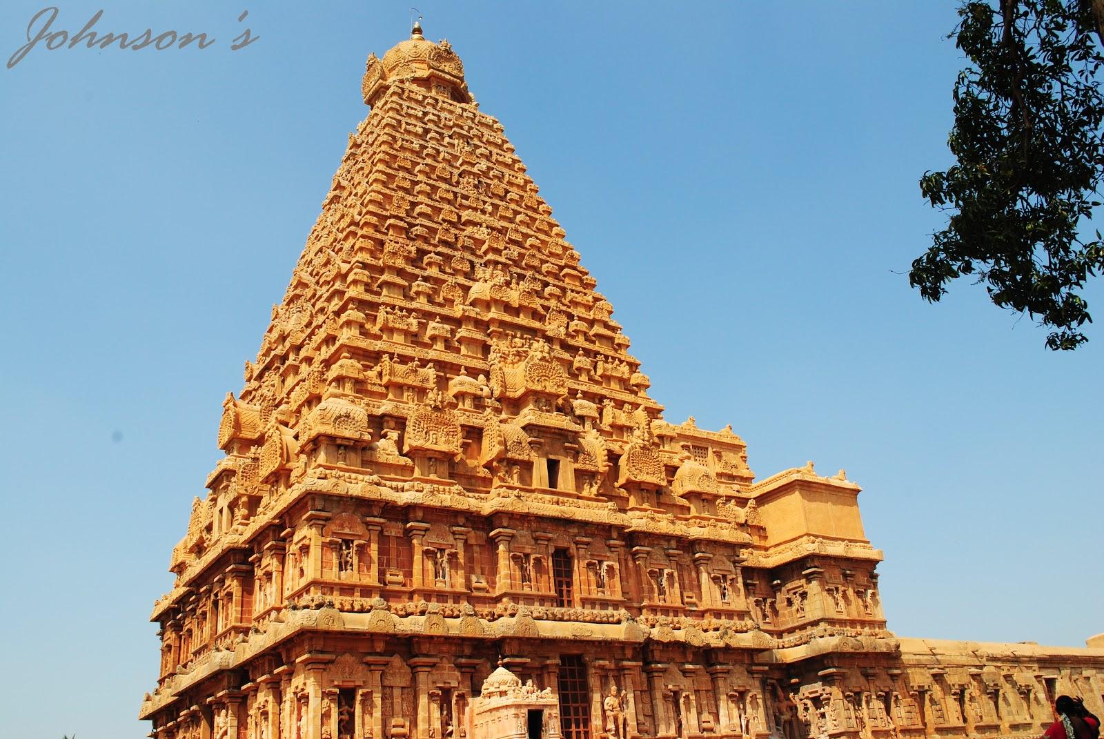 Johnson S Brihadeeswarar Temple Amp Saraboji Palace