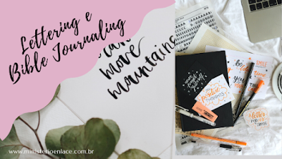 lettering e bible journaling