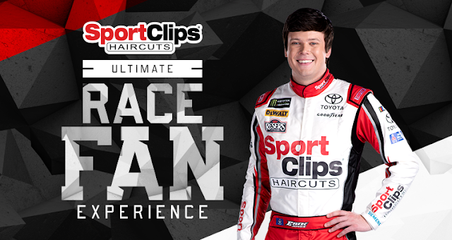 Sports Clips wants racing fans to enter daily for a chance to win a vacation to Fort Worth, Texas to attend the Monster Energy Series Race and meet Erik Jones!