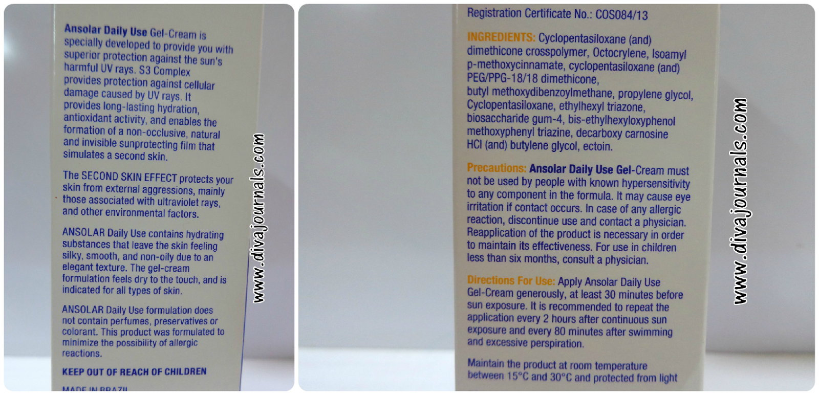 Ansolar Daily Use Gel-Cream SPF 30 Sunscreen Review