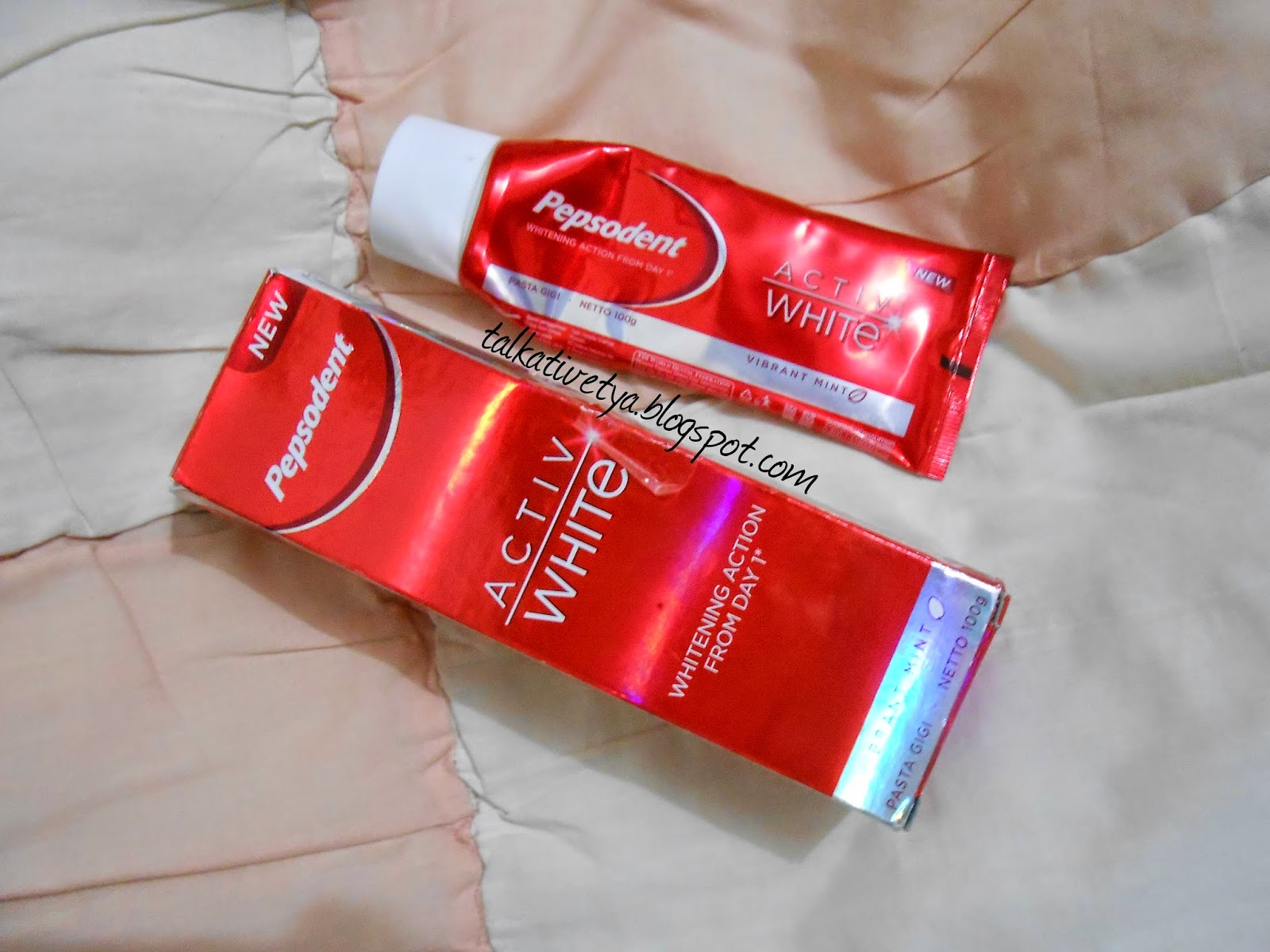 Sponsored Review Pepsodent Activ White Talkative Tya Indonesian