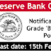 RBI GRADE B OFFICERS RECRUITMENT APPLY NOW