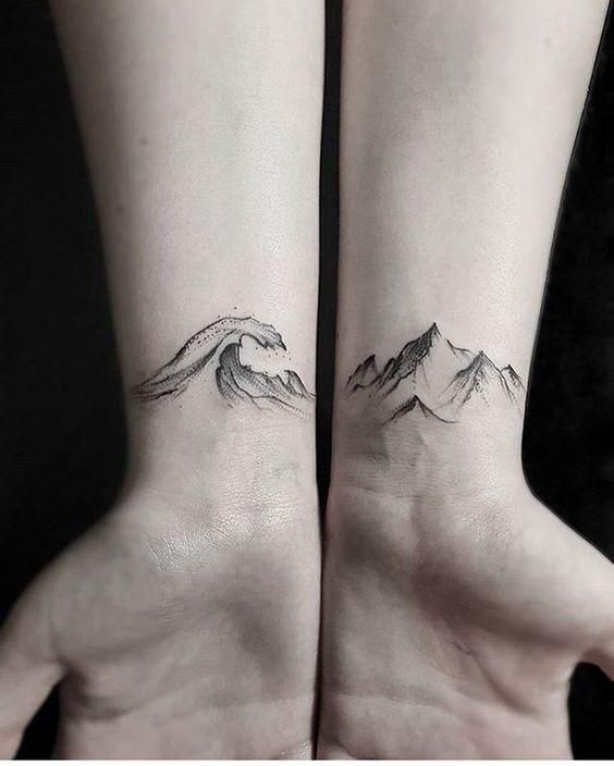 40 Fabulous Mountain Tattoo Designs