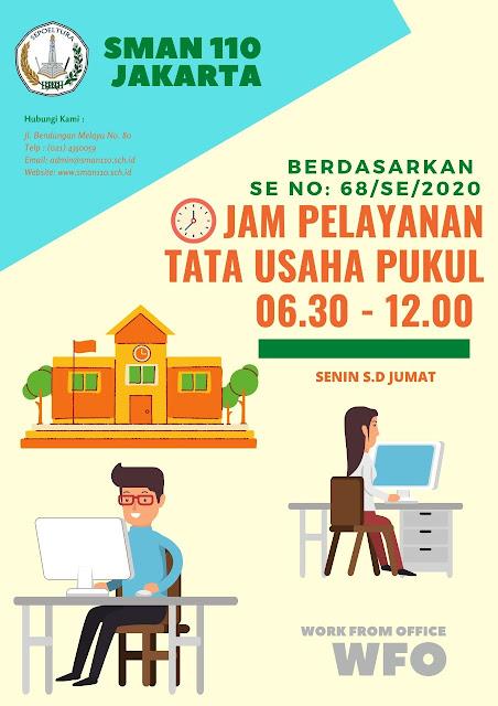Jam Pelayanan Sekolah Semasa PSBB