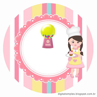 Girls Bakery: Free Printable Cupcake Wrappers and Toppers.