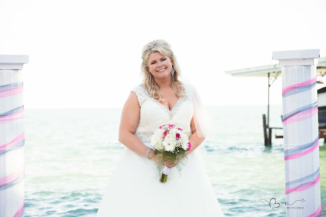 bride new baltimore waterfront wedding