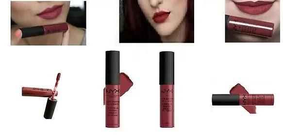 NYX Matte Lipstick Copenhagen