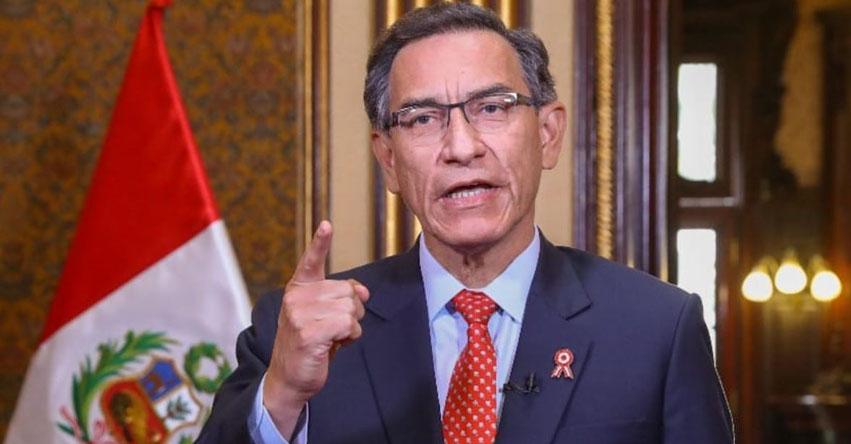 MENSAJE A LA NACIÓN: Presidente Martín Vizcarra emitirá pronunciamiento al país [EN VIVO]