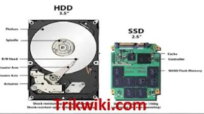 Kelebihan Yang Di Miliki SSD Dibandingkan HDD
