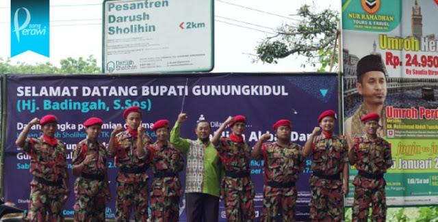 KOKAM Muhammadiyah Rutin Jaga Pengajian Wahabi Gunungkidul