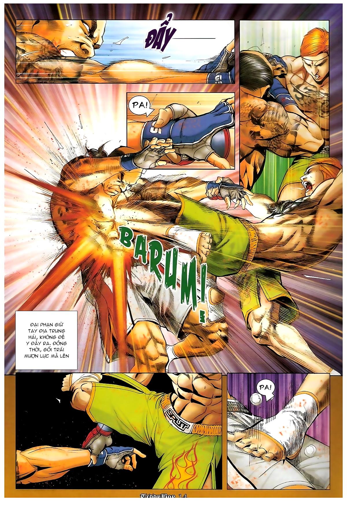 Người Trong Giang Hồ - Chapter 1253: Đánh gục Kim Mông Không - Pic 13