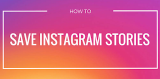 How to save someone else's Instagram story