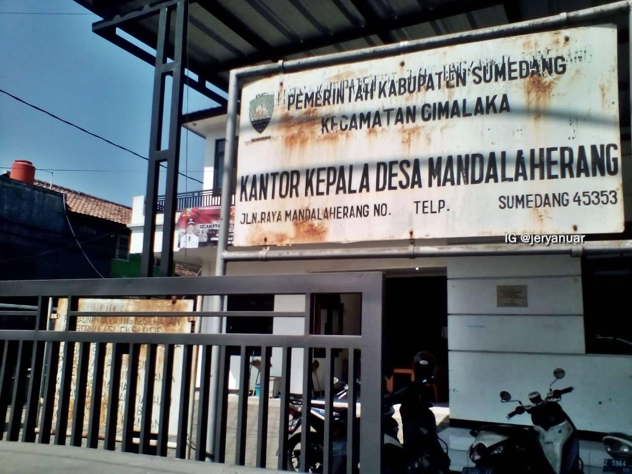 Kantor Desa Mandalaherang, Kab. Sumedang