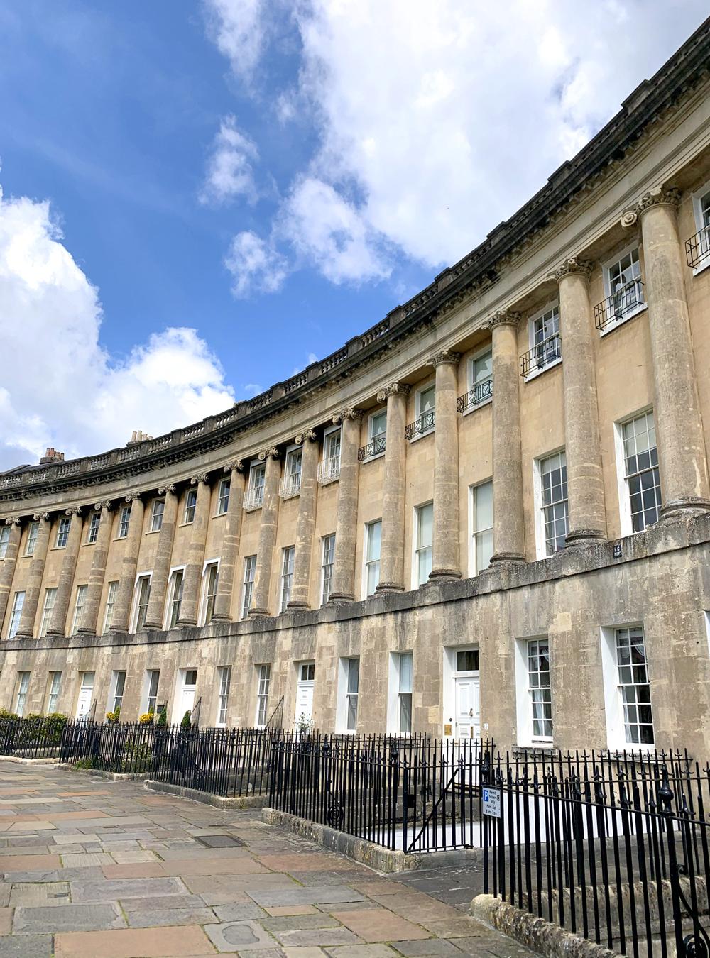 The Royal Crescent, Bath - Emma Louise Layla, UK travel & lifestyle blog