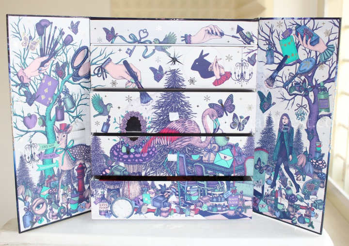 LookFantastic Beauty In Wonderland Advent Calendar 2017 FULL CONTENTS, SPOILERS
