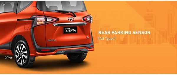 Rear Parking Sensor Toyota All New Sienta