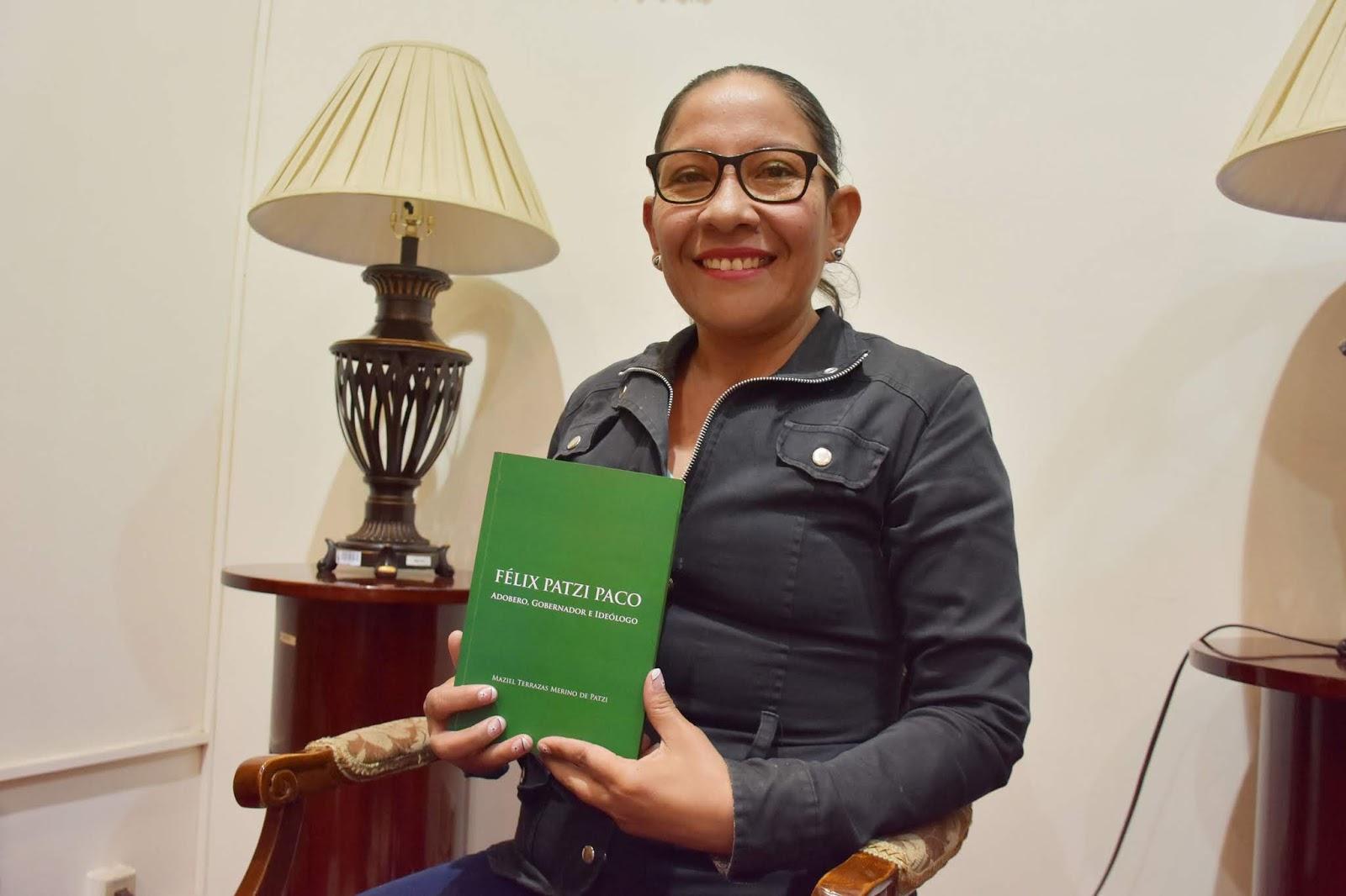 Maziel Terrazas es abogada y logró su Doctorado en el postgrado avalado por la UMSA y la UNAM de México / GADLP