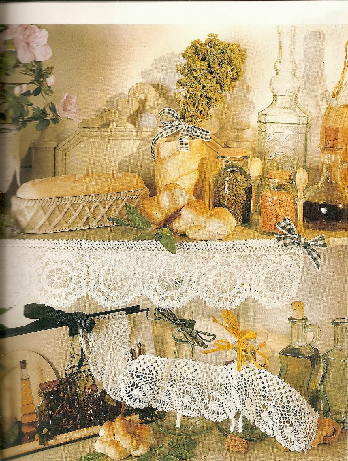 Labores para el hogar en crochet revistas de for Manualidades modernas para el hogar