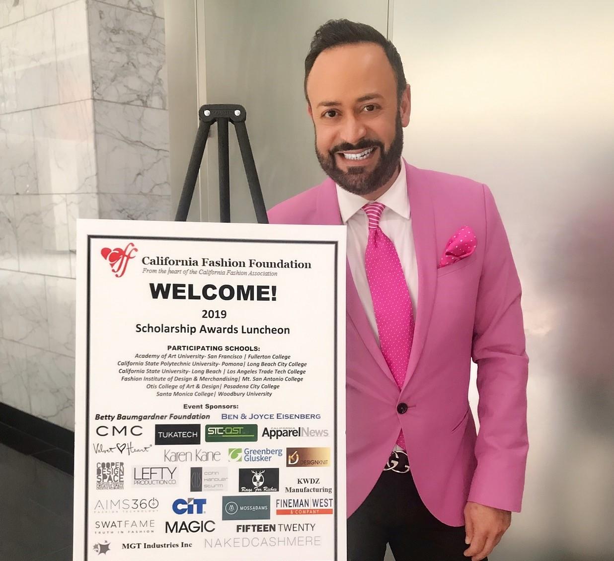 Nick Verreos Nick Appearances 2019 California Fashion Association Foundation Scholarship Luncheon Recap