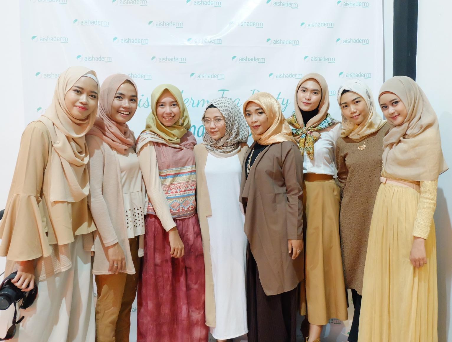 Jogja Bloggirls, Aishaderm Cosmetics