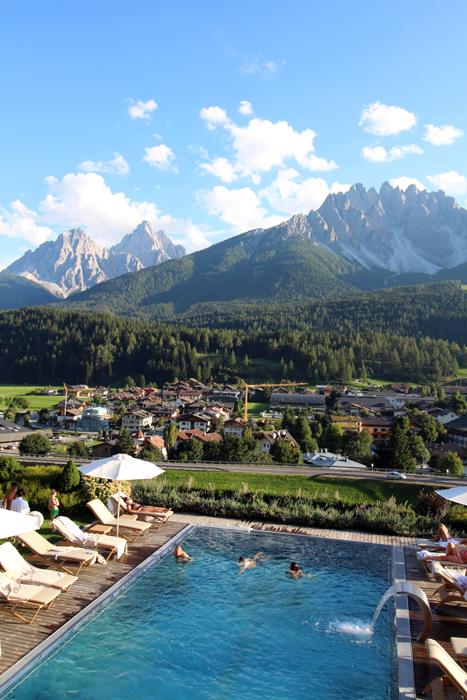 Pool im Leitlhof, 4 Sterne Hotel in Innichen