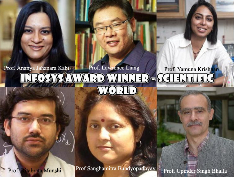 Infosys Prize 2017 winners