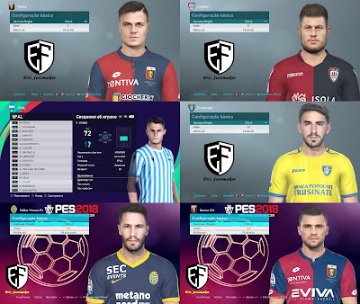 PES 2021 Facepack Serie A Vol 2
