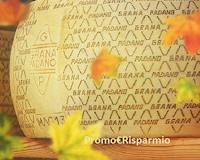 Logo Grana Padano ''Natale a casa mia'' : vinci gratis fino a 36 kg. di formaggio e ingressi Gardaland