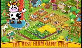 Farm Day Village 80mb MOD APK game idle Farming Android Offline
