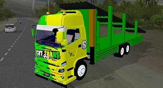 Bussid Truck Hino Muatan Berat